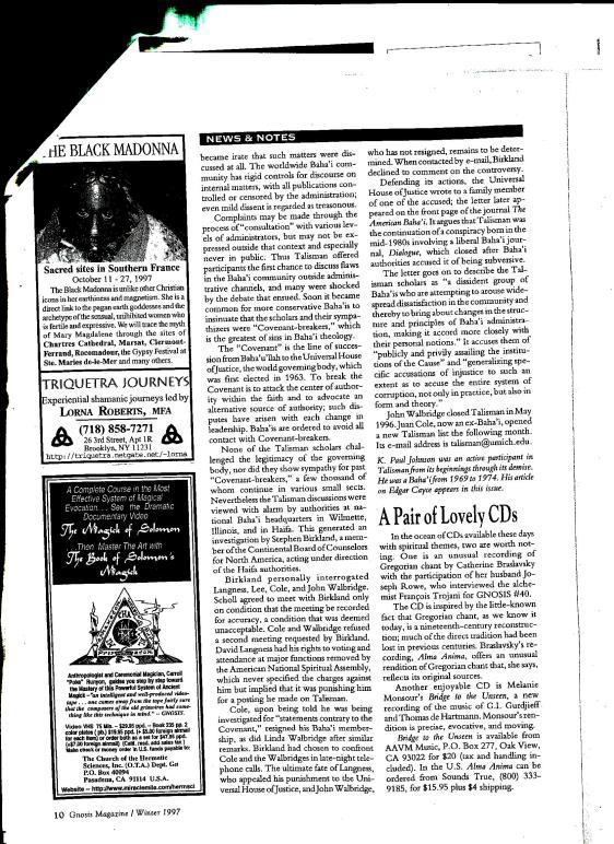 Baha'i Critics2